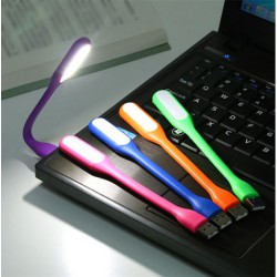 Lámpara LED USB Portátil Flexible